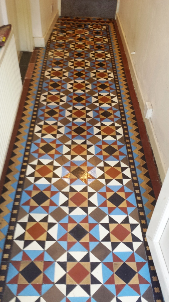 Recently Uncovered Victorian Tiles Completely Transformed