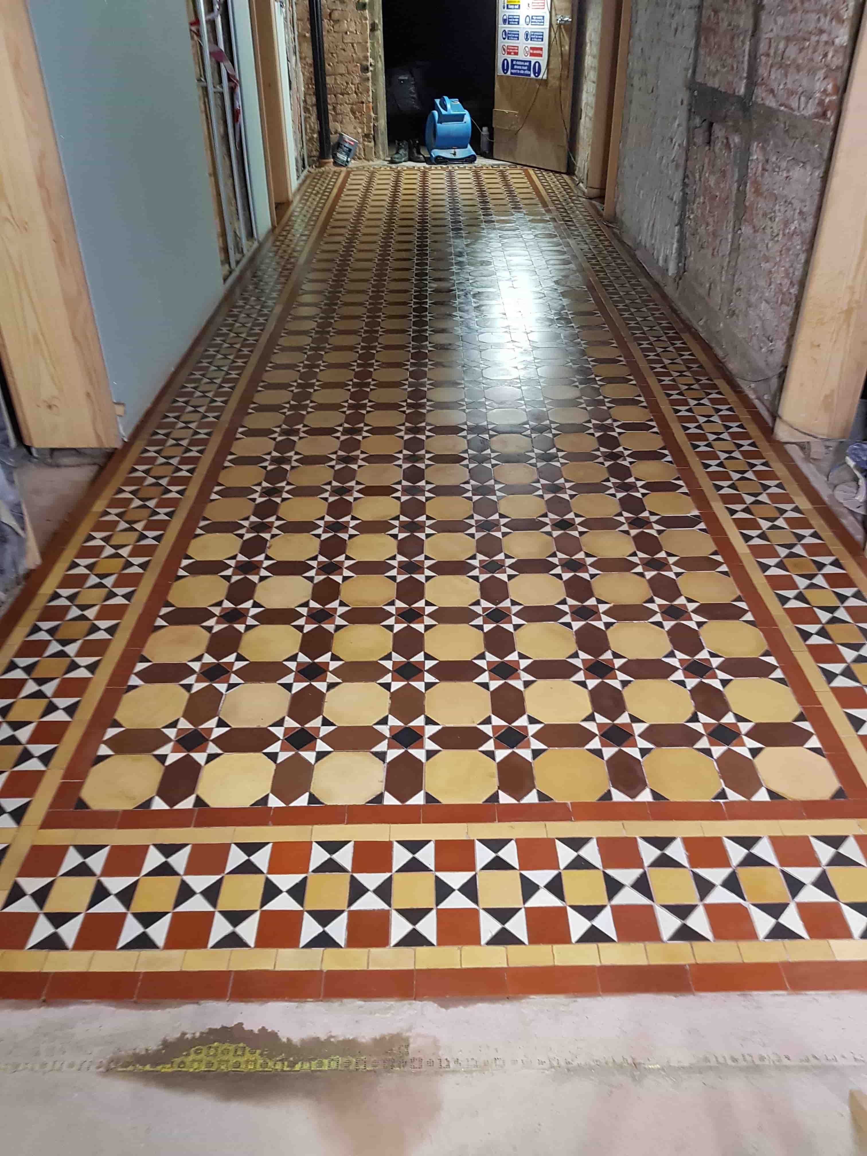 Victorian Floor After Installaton Aston Park House Great Budworth Northwich